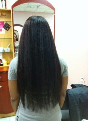 Trimming Natural Hair and Length Retention