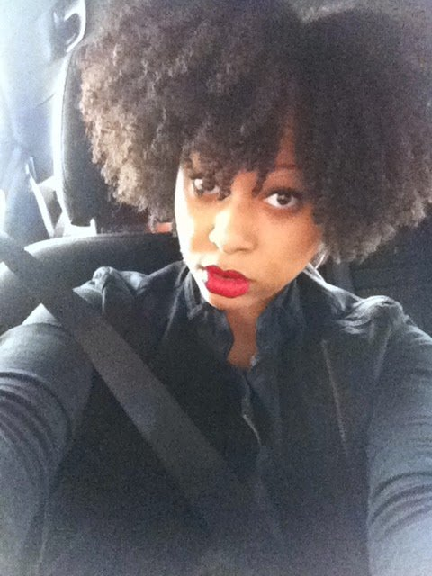 """Giovanna- """"The first time I ever saw my real hair texture was after I big chopped."""""""