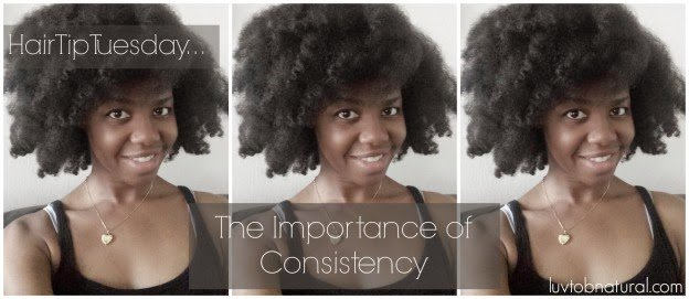 The Importance of a Consistent Hair Regimen