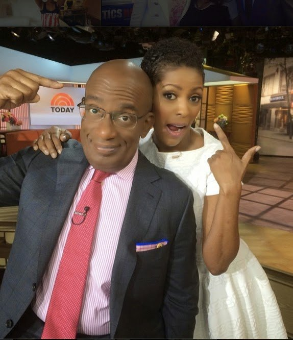 Tamron Hall Rocks Her Natural Hair on the Today Show! (Update-Get the Look!)