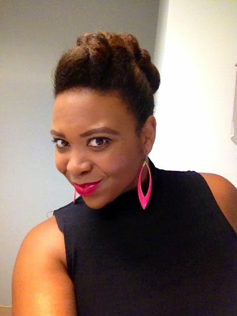 Twisted Updo Tutorial for Natural Hair #WorkFlow
