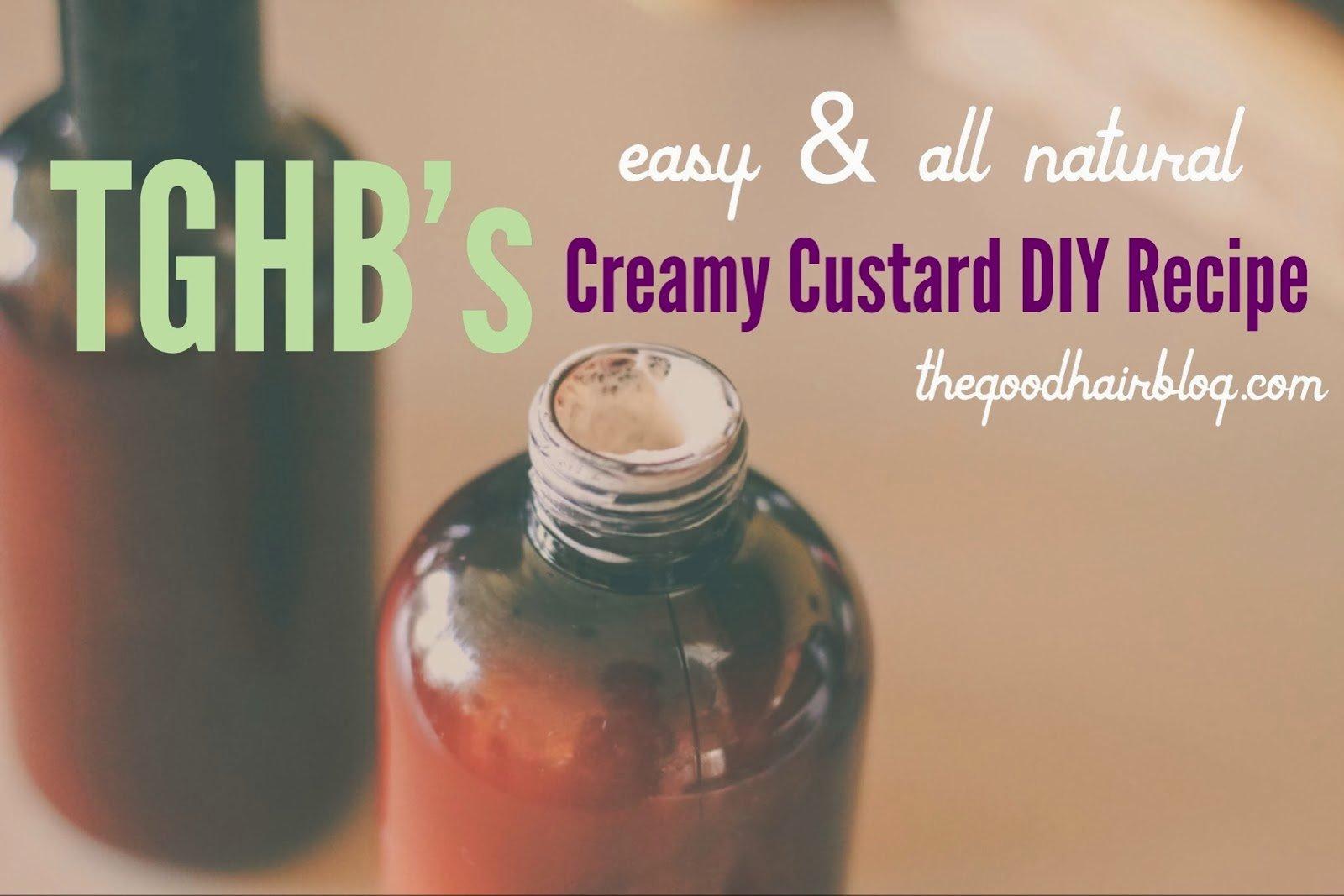 DIY: Creamy Custard Styler for Natural Hair