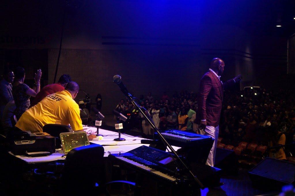 Backstage at the #NeighborhoodAwards2014