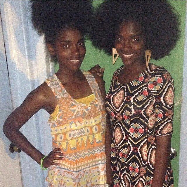 Alia and Delcia are 'Naturally Glam'!