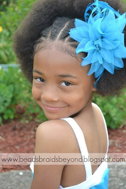 Back to School Styles for Your Curly Daughter- Natural Hair Styles