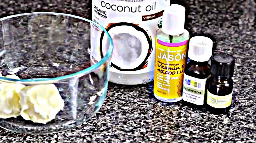 DIY- Whipped Butter Cream for Softer Skin and Hair