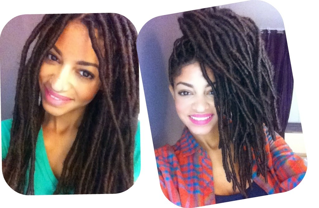Loc Extensions for Natural Hair- A Fall Protective Style!
