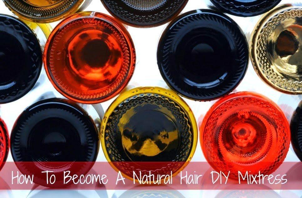 Become a Natural Hair DIY Mixtress!