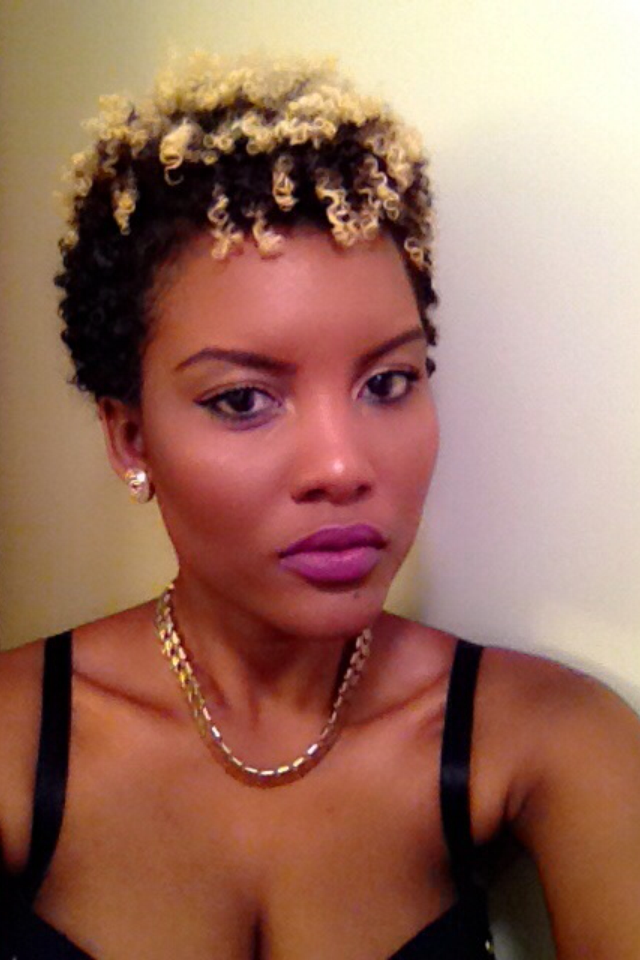 Iphie on her Natural Hair- 'I enjoy the sense of... royalty'.