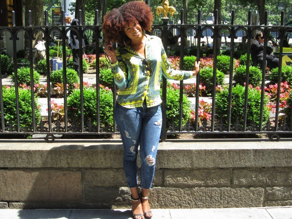 """On the Couch with Danielle- """"I decided to see how long I could go without a relaxer."""""""