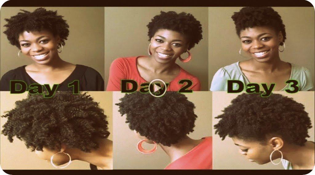 4C Natural Hair- A Nighttime Regimen