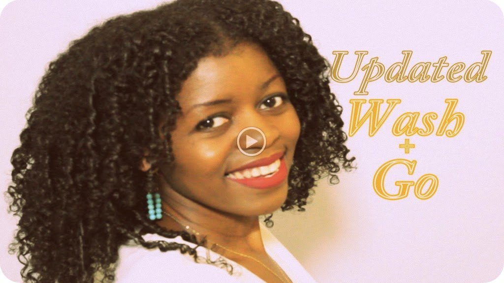 A Tangle Free, Ultra Defined Wash and Go Technique
