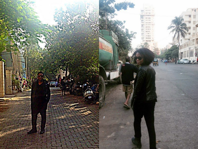 All Black in Bombay (and a giveaway)