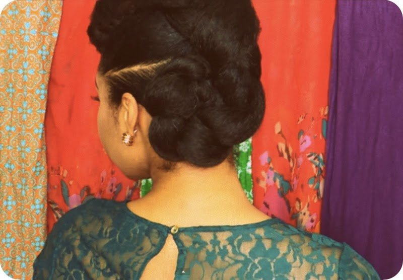 Protective Style for Natural Hair- The Twist n' Bun