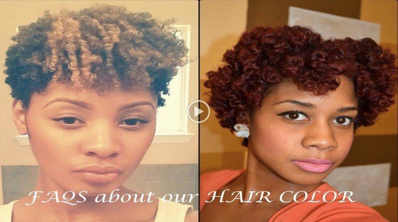 Dyeing Natural Hair- FAQs