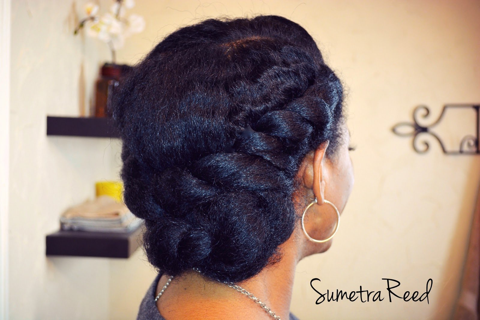 Protective Natural Hair Styles in 5 Minutes or Less!