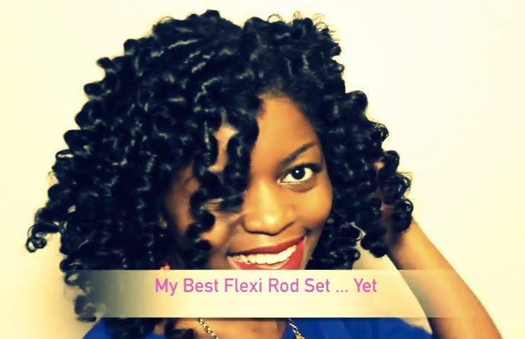Flexi-Rod Set on Natural Hair #Perfection