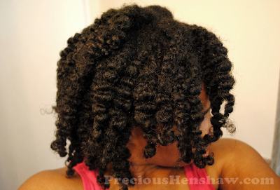 Moisturizing and Sealing For Length Retention