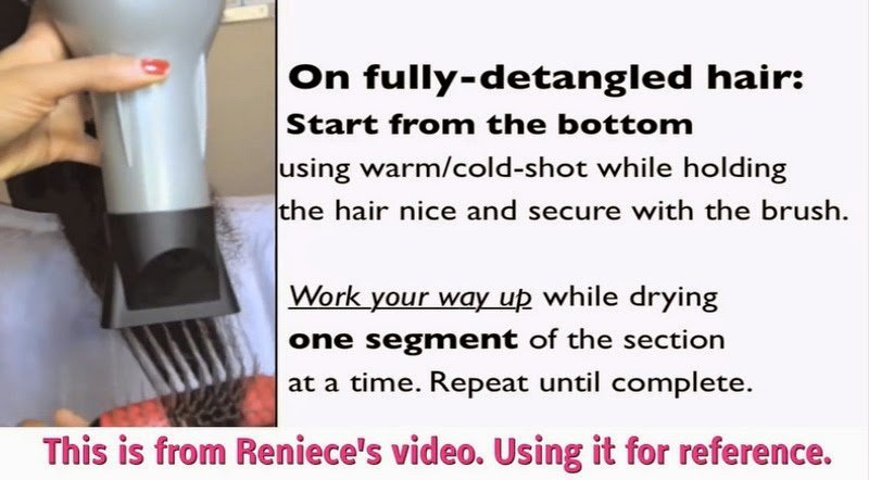 A New Way to Blow Dry 4c Natural Hair!