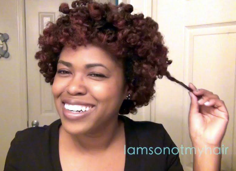 Flat Twist-Out with Cocoon Technique on Natural Hair