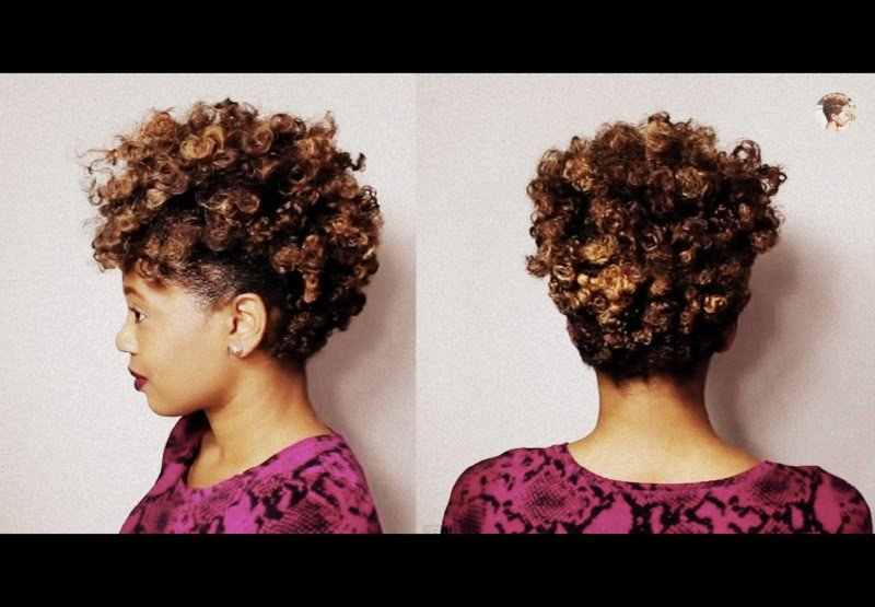 The Faux Tapered Cut for Natural Hair