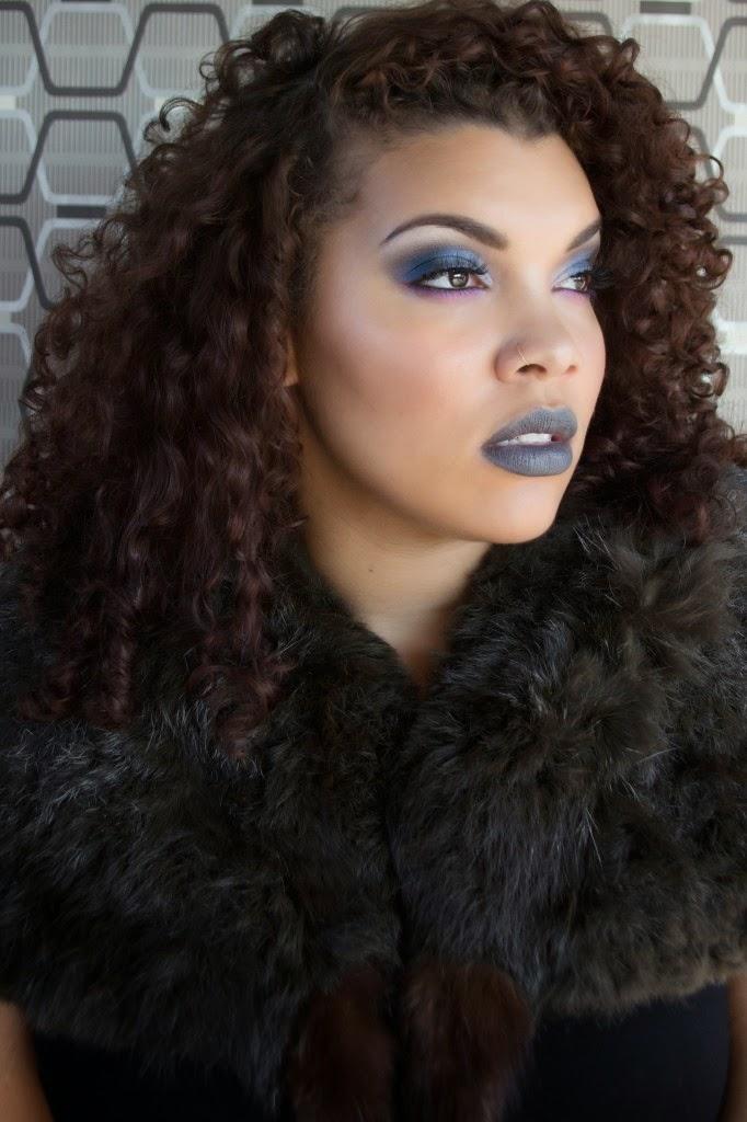 Black Beauty on White Skin
