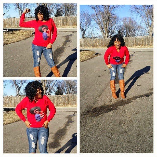 Ebony is Naturally Glam!