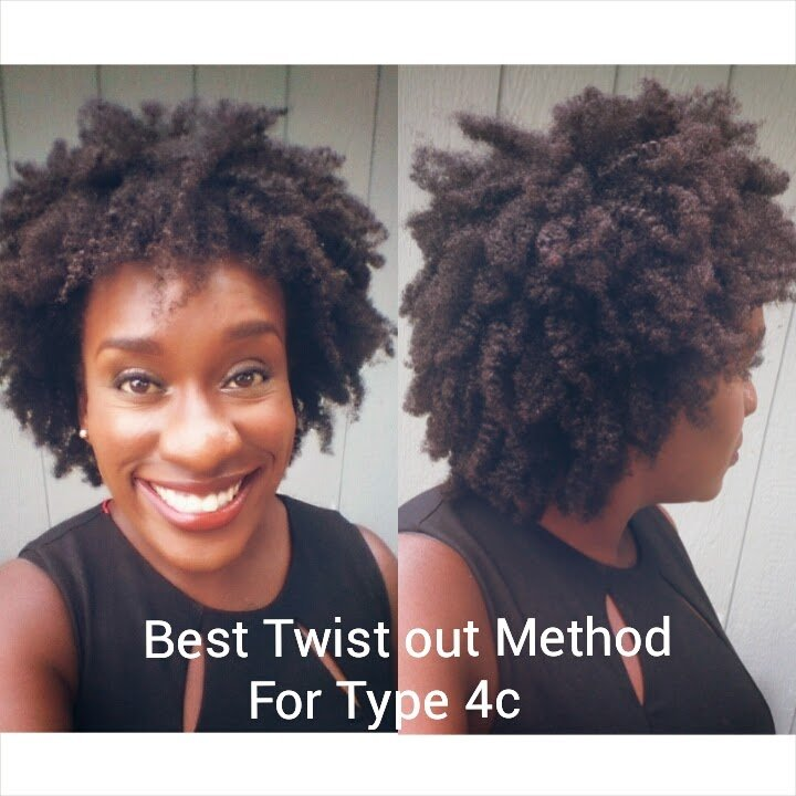 4c Natural Hair- Achieving and Maintaining Twist-Out Definition