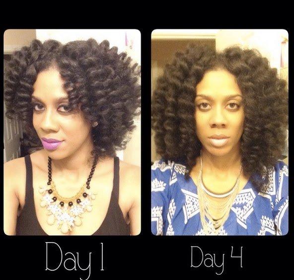 Perm Rod Set Tutorial + Achieving 5th Day Hair!