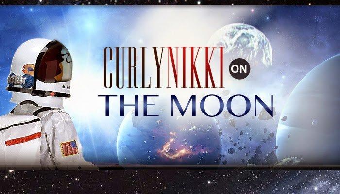 Curls in Space- Follow CurlyNikki's Adventures!