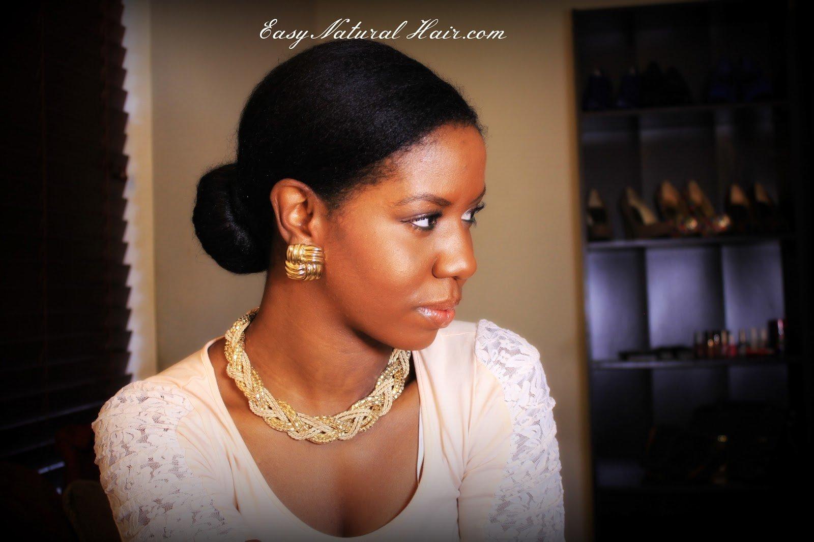Maintaining Straightened Natural Hair