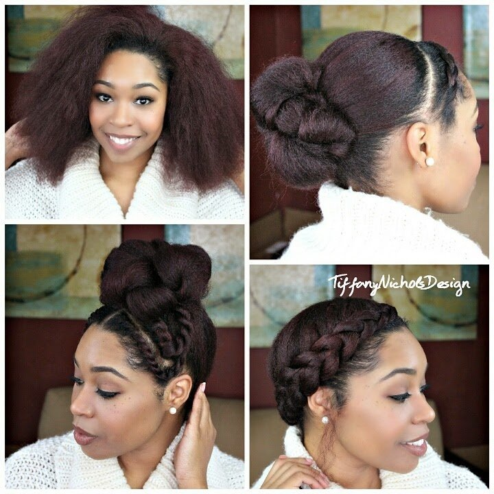 Natural Hair: 3 Quick Styles for a Blow-Out