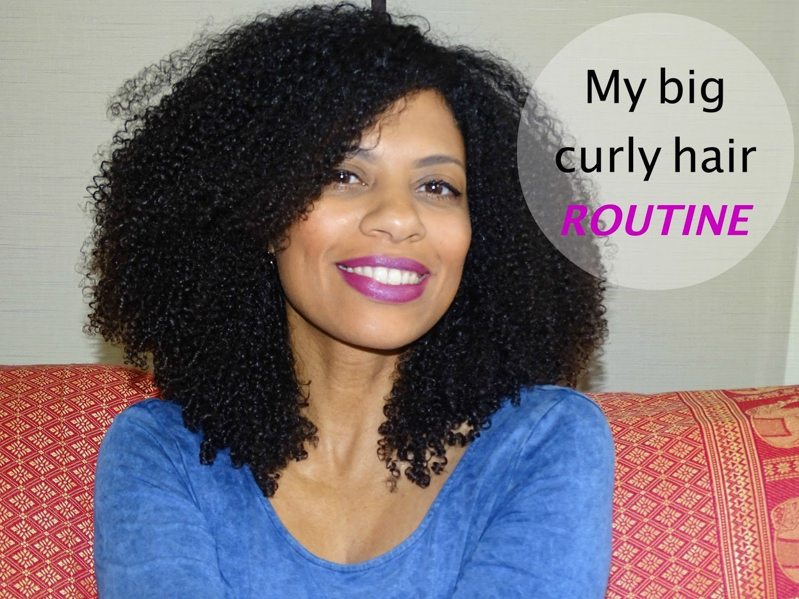 My Big Curly Hair Routine- Wash and Go Greatness!