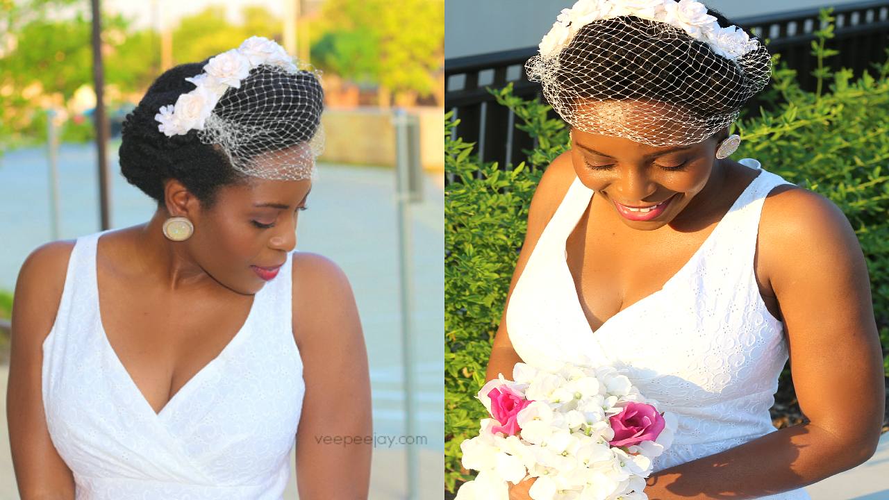 Easy Vintage Hairstyle for Natural Hair