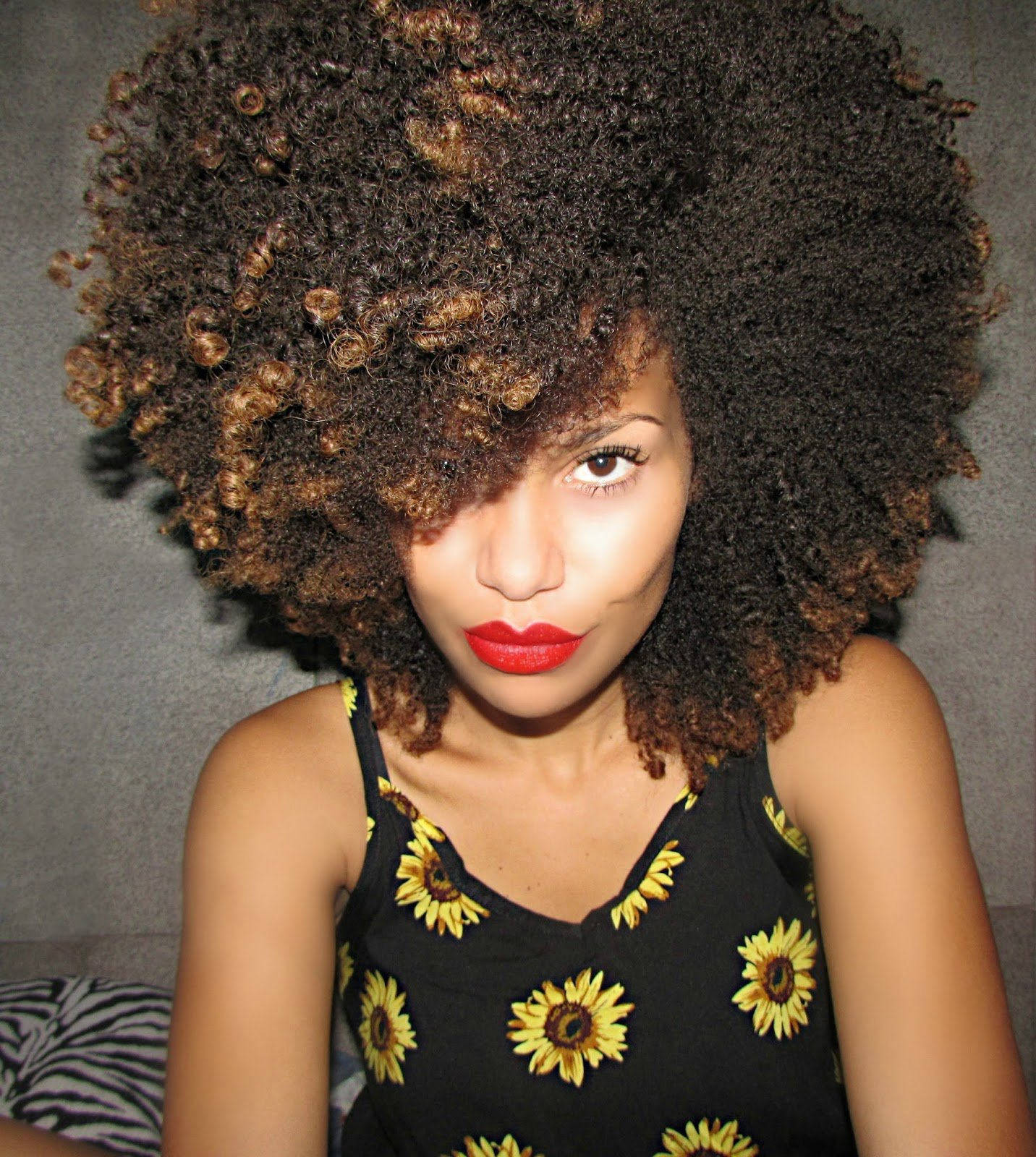 """Loana from Brazil- """"I was looking for my own identity, so I decided to start with the hair."""""""