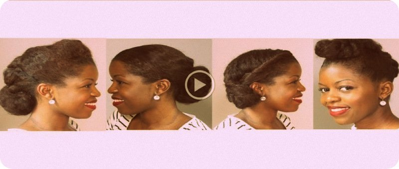 Natural Hair Styles for Work- 4 Chic Looks