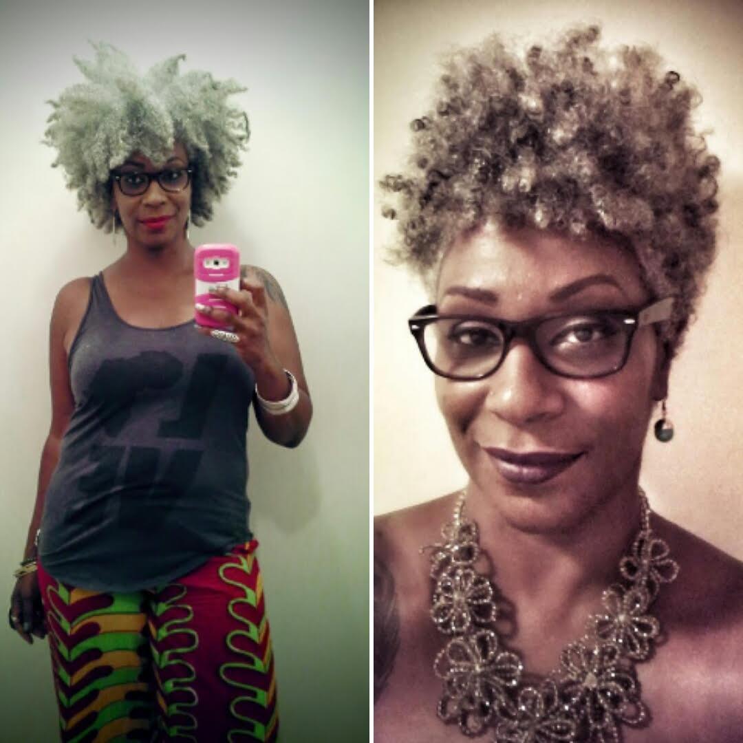 This Ain't Yo Momma's Gray Hair...