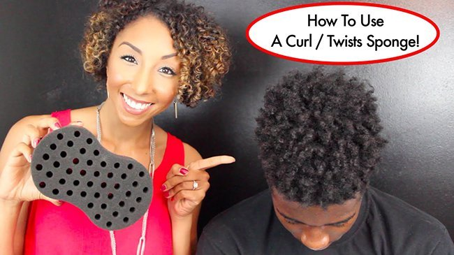 Sponge Twists and Coils- How to Define Your Short, Natural Hair