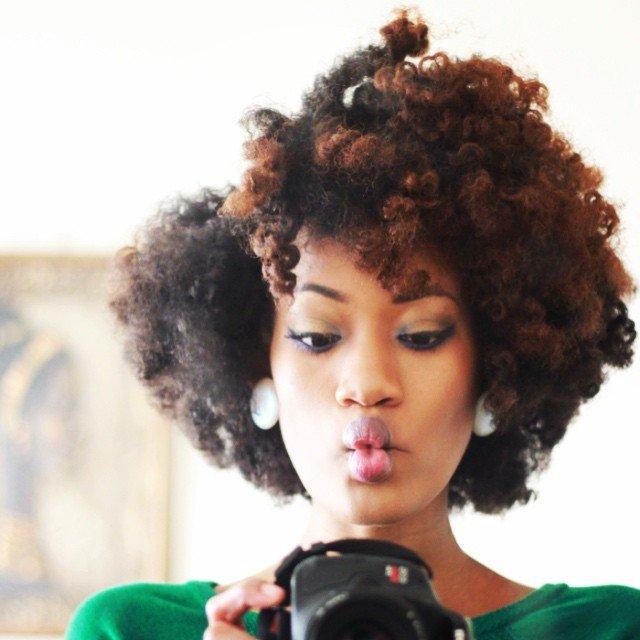 Nacketia from Jamaica is Naturally Glam!
