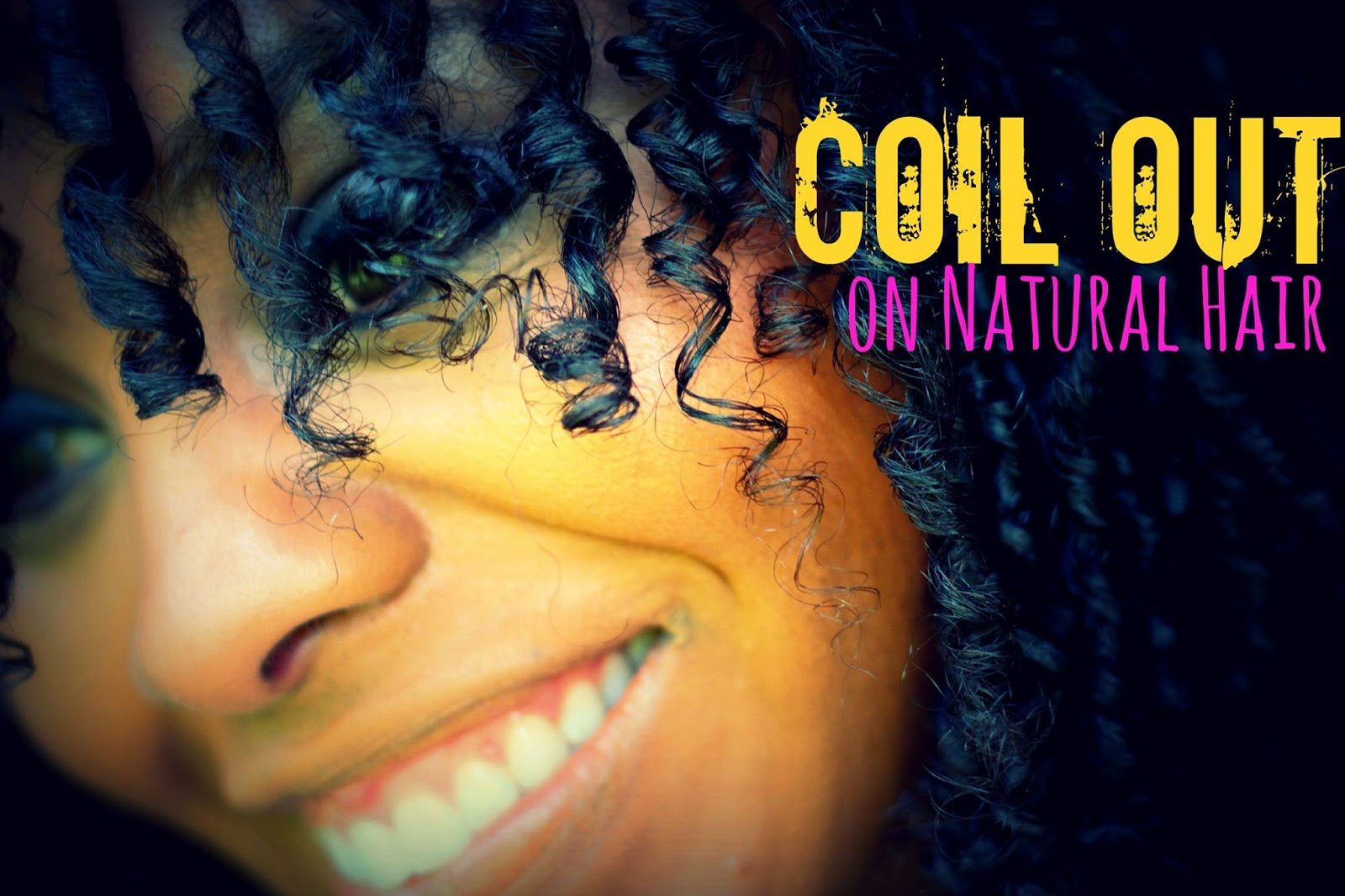 Curly Coil Out on Natural Hair
