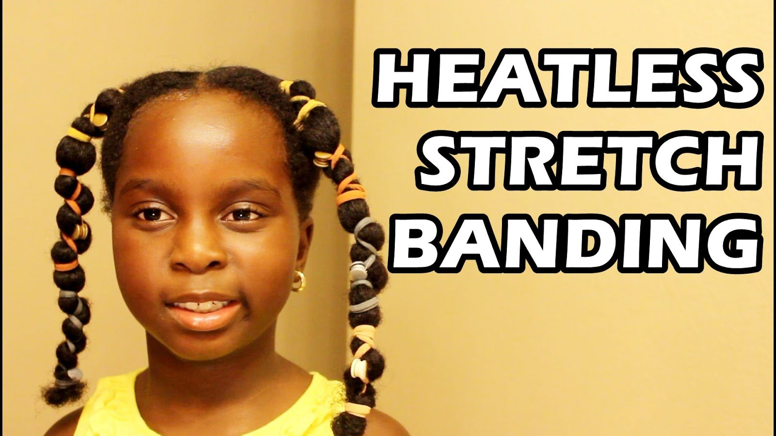Stretch Your Daughter's Hair Without Heat!