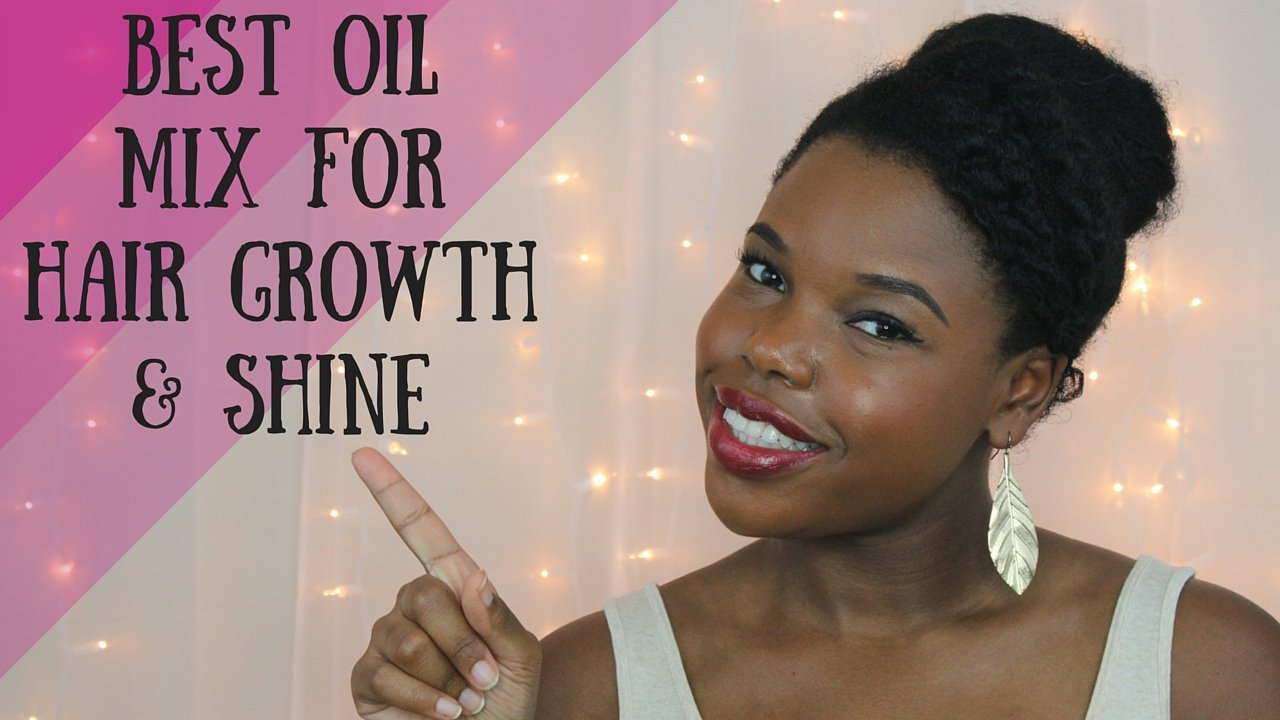 The Best Oil Mix for Natural Hair Growth and Shine