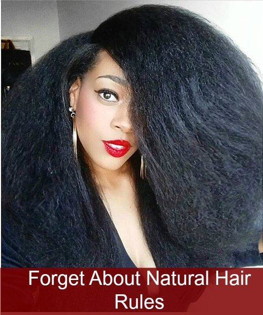 Forget About Natural Hair Rules, or Nah?