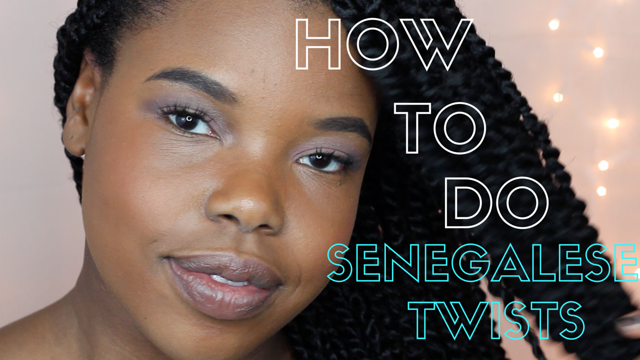 How to Do Senegalese Twists (The Easy Way!)