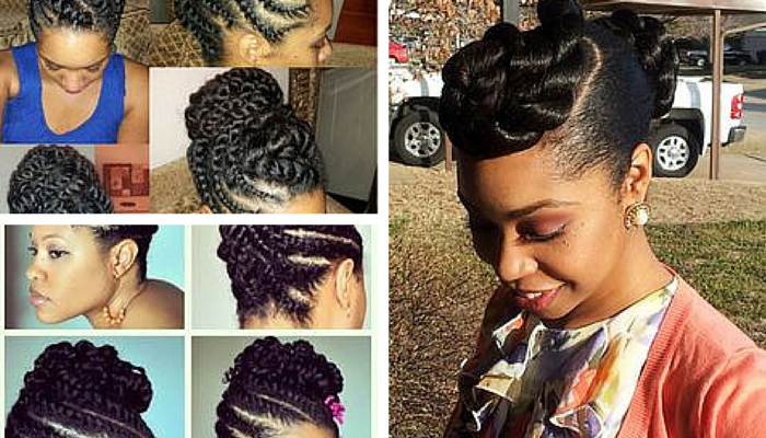 Protective Style Season: Twisted Updos