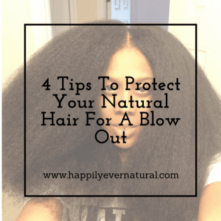 Natural Hair Blow Out | Tips to Prevent Damage
