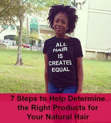 A Guide to Finding the Right Products For Your Natural Hair