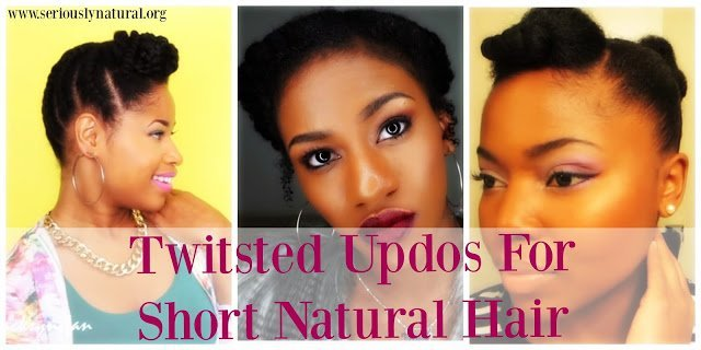 Easy Short Natural Styles