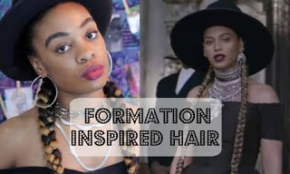 Beyonce's Formation Inspired Hair