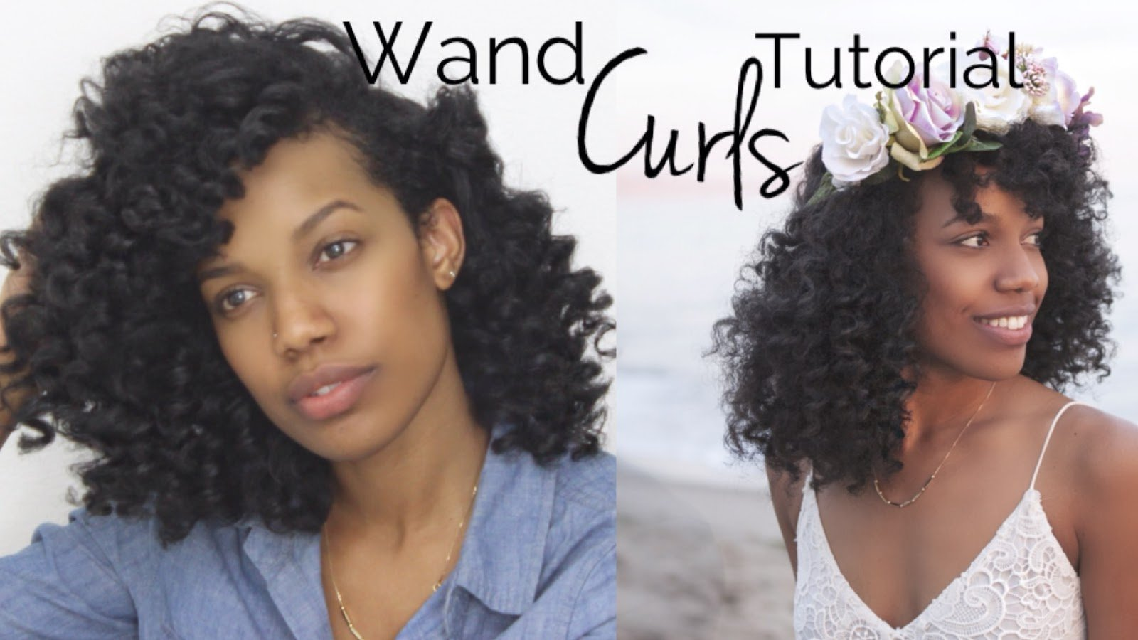 How to Use a Curling Wand On Natural Hair